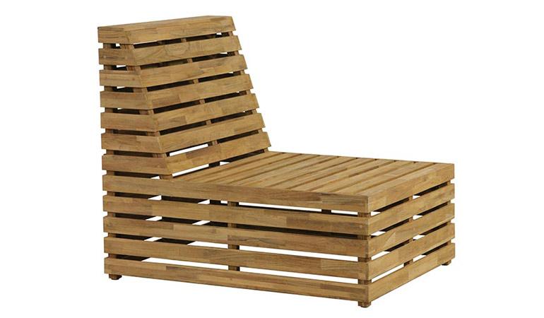 Кресло средняя секция