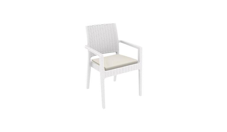Кресло белое Westminster