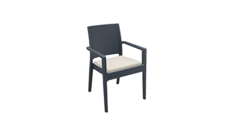Кресло черное Westminster