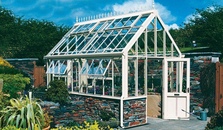 Зимний сад Victorian Alpine Glasshouses Англия