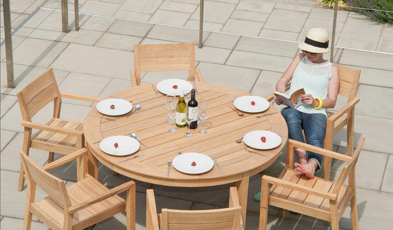 Стол круглый обеденный