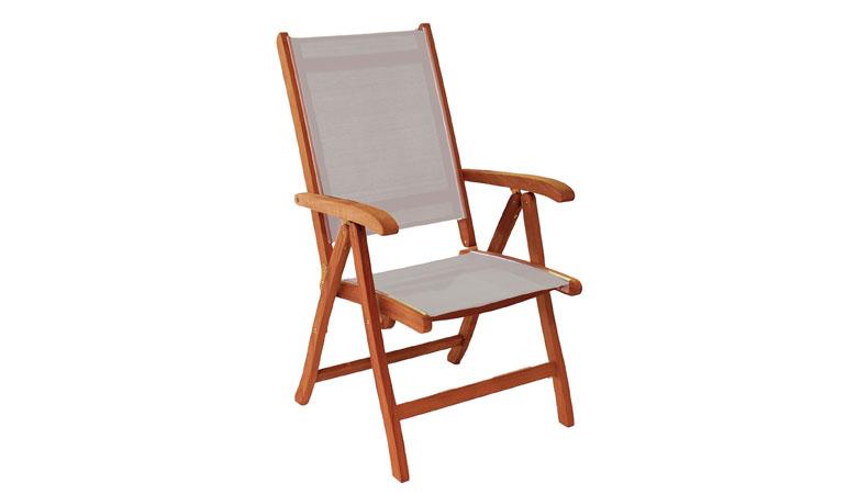 Кресло с текстиленом