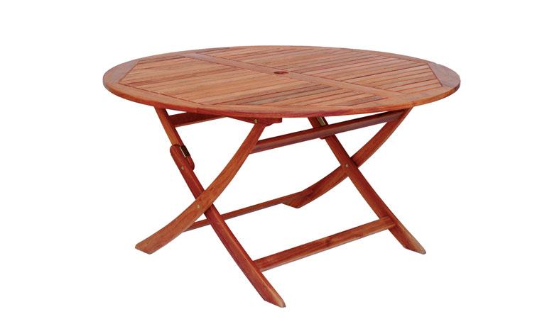 Складной стол круглый