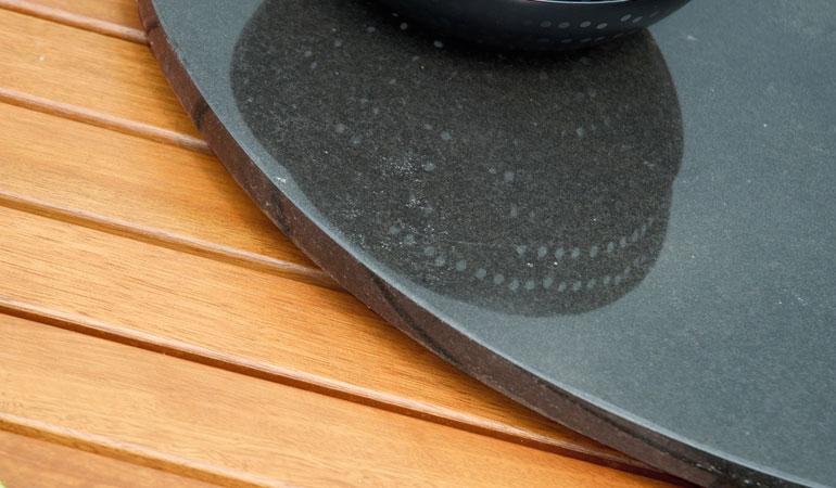 Складной круглый стол
