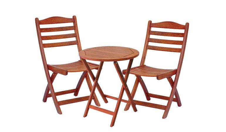 Комплект — два стула и стол