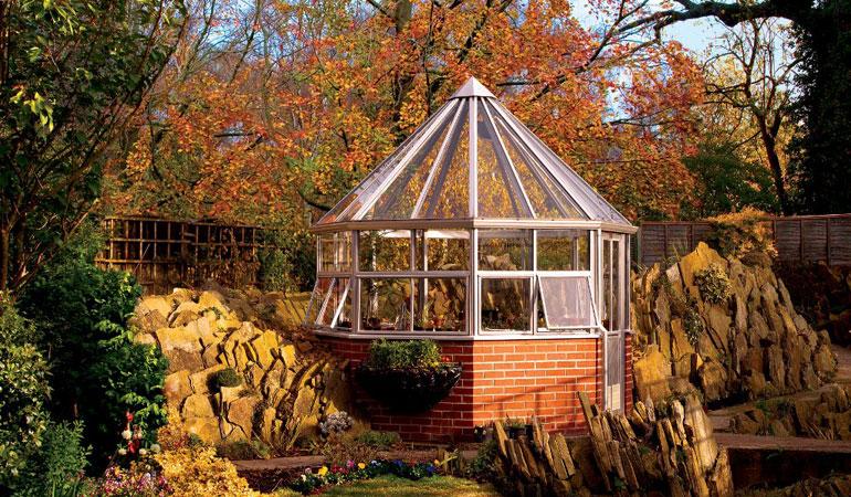 Зимний сад The Octagon Англия