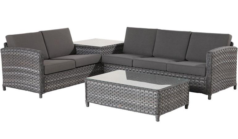 Модуль 2-х местного дивана со столом, правый