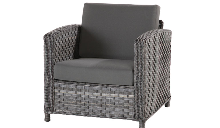 Кресло с двумя подушками Лодж