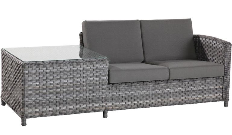 Модуль 2-х местного дивана со столом Лодж, левый