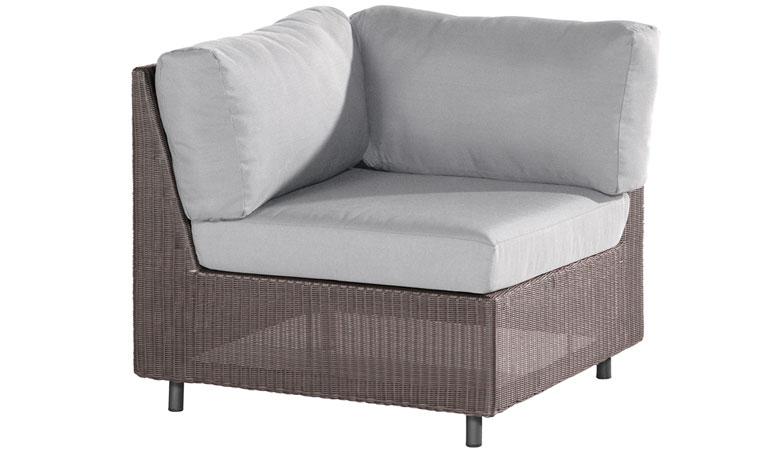Модуль дивана с подушками угловой Аспен