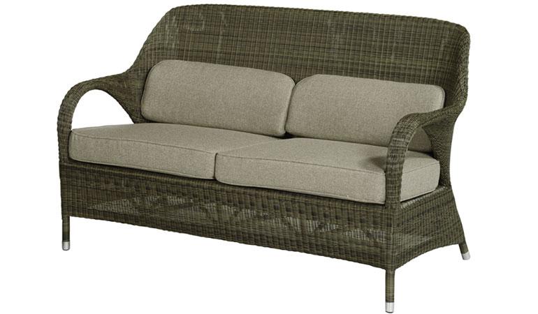 Двухместный диван с подушками Mocca
