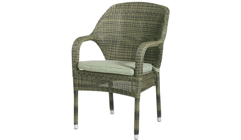 Складируемое кресло с подушкой Mocca