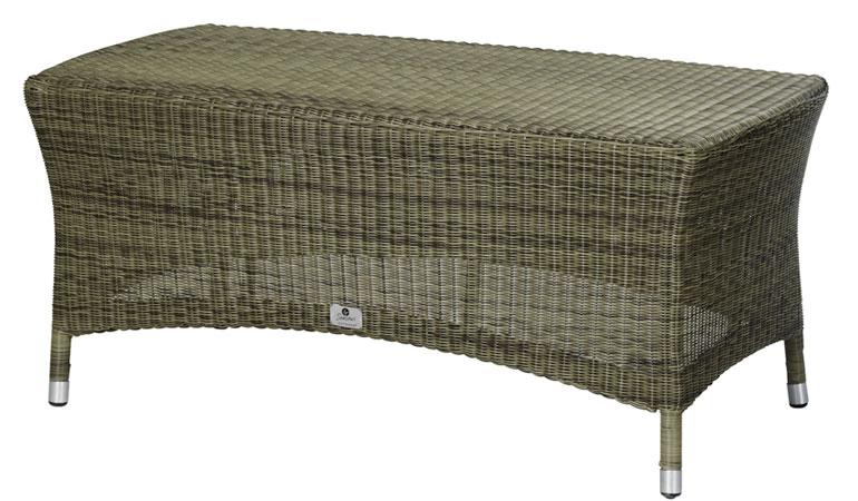 Кофейный стол со стеклом Mocca