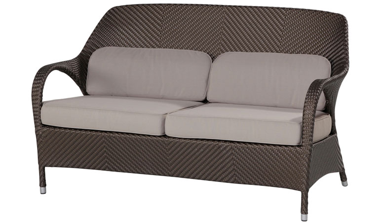 Двухместный диван с подушками Gold