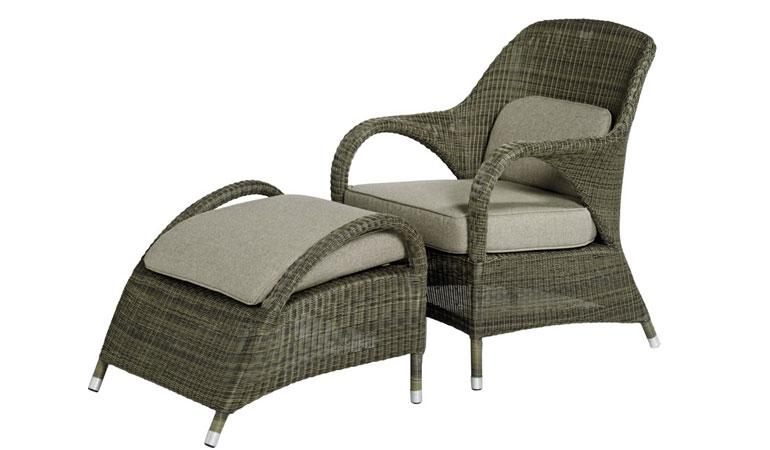 Кресло с двумя подушками Mocca