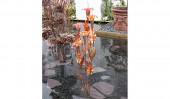 Фонтан «Хальцион» 5 оранжевый