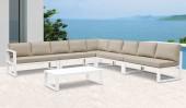 Белый кофейный столик