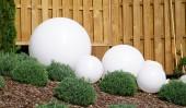 Светильник шар белый 25 см