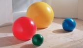 Светильник шар темно-фиолетовый 25 см