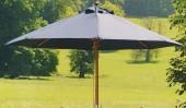 Зонт бежевый восьмигранный Alexanderrose 3х3 м