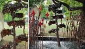 Фонтан-дерево «Луна» (Luna Tree)