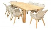 Комплект садовой мебели Bitozzo 9 предметов