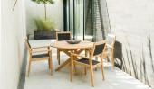 Комплект №2 столик круглый + 4 кресла