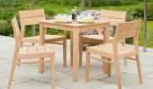 Комплект №21 кофейный столик + 4 кресла
