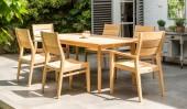 Комплект №25 стол прямоугольный + 2 кресла + 4 стула