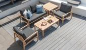 Комплект №6 диван 2-местный + 2 кресла + 2 журнальных столика