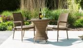 Комплект #17 столик кофейный + 2 кресла с подлокотниками