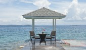 Комплект #5 стол круглый + 2 кресла с подлокотниками