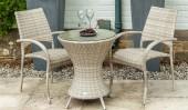 Комплект #6 столик круглый + 2 кресла