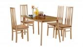 Обеденная группа: стол «Скандинавия» и стулья «Визит»
