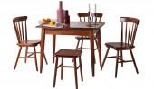 Обеденная группа: стол «Лео», 3 стула «Модерн» и табурет «Модерн