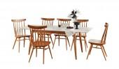 Обеденная группа: стол «Самурай-3», 6 стульев «Самурай»
