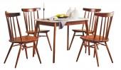 Обеденная группа: стол «Спайдер мини» и 4 стула «Самурай»