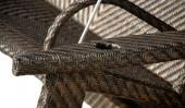 Плетеные качели