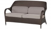 «Сассекс» двухместный диван с подушками «Gold»